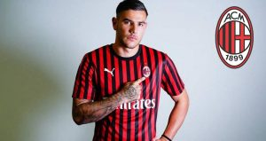 AC Milan Label Theo Hernandez Not For Sale