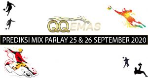 Bocoran Mix Parlay 25 Dan 26 September 2020