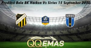 Prediksi Bola BK Hacken Vs Sirius 15 September 2020