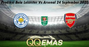Prediksi Bola Leicester Vs Arsenal 24 September 2020